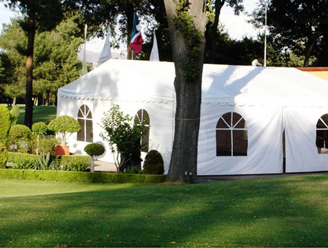 Carpas blancas for Carpas jardin baratas